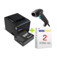 Automação de comércio com SAT Leitor limpressora e WinPDV 2 Professional